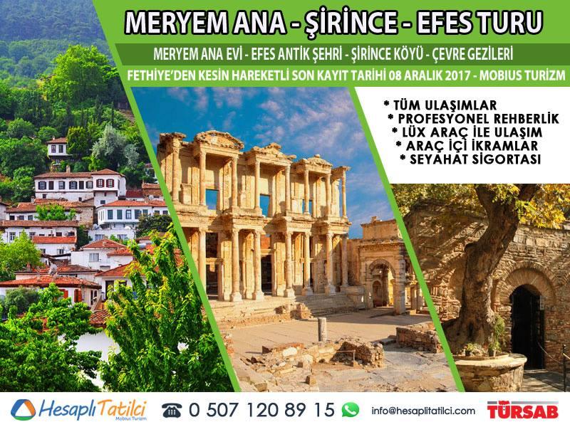 Meryem Ana - Şirince - Efes Turu | Fethiye Çıkışlı