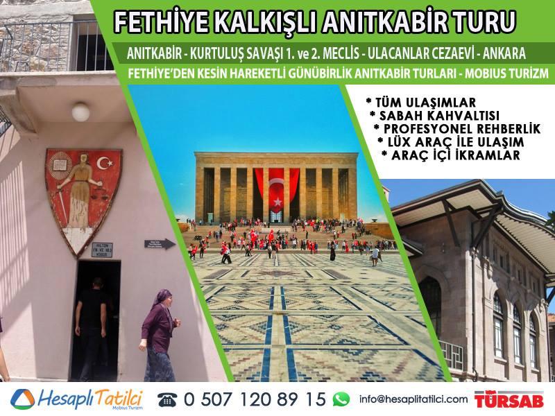 Fethiye'den Anıtkabir Turu