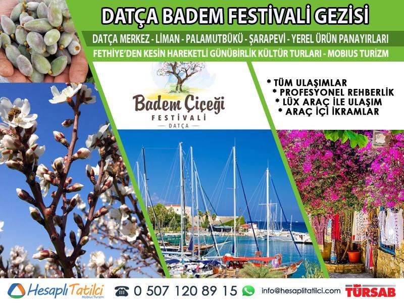 Datça Badem Çiçeği Festivali Gezisi | Fethiye Çıkışlı