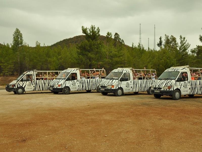 Fethiye Zebra Jeep Safari (Fethiye - Ölüdeniz Çıkışlı)
